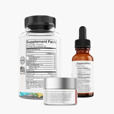 Healspire CBD active kit back