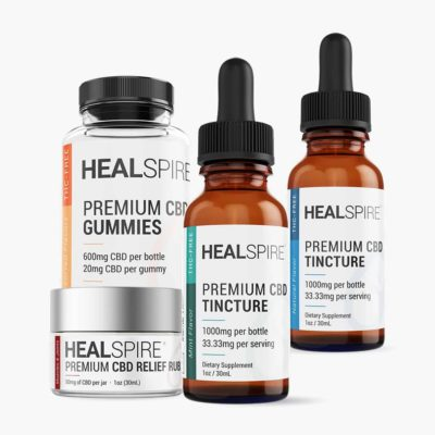 Healspire CBD joy kit