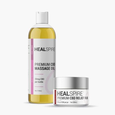 Healspire CBD SPA kit