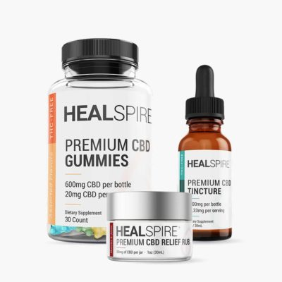 Healspire CBD active kit