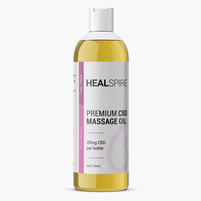 Healspire CBD massage oil
