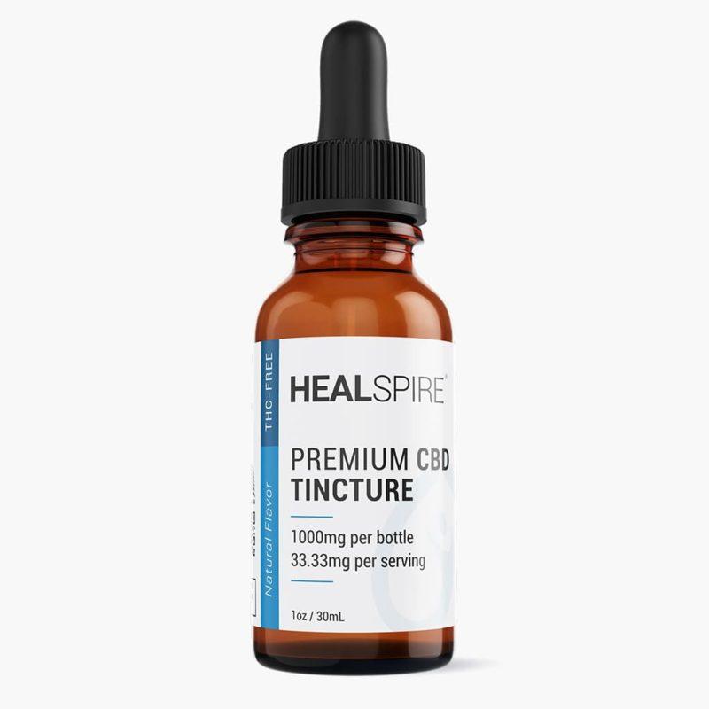 CBD oil tincture natural 1000mg Healspire